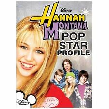 Disney's HANNAH MONTANA Pop Star Profile BUY 3 DVDs FREE SHIPPING +10% off