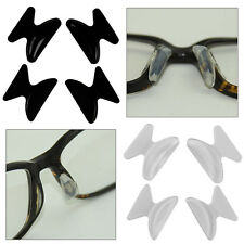 2 Pairs Self Adhesive Silicone Nose Pads Glasses Spectacles Eyeglass Sunglasses
