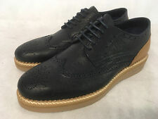 Oliver Sweeney Estrela Navy/Tan Leather Lace up Shoes. Various Sizes. RRP £195.