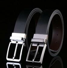 New Fashion Mens Dress Casual Belt Leather Belt Automatic Buckle Waist Belts