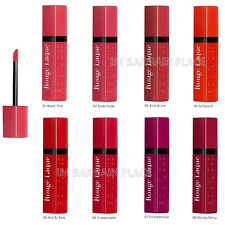 NEW BOURJOIS ROUGE LAQUE LIQUID LIPSTICK, INTENSE COLOUR AND SHINE  - ALL SHADES