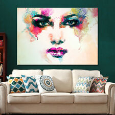 Oil Painting Canvas Art Wall Picture for Living Room Watercolor Decor Unframed