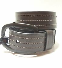 Marc Ecko Mens Brown Genuine Leather Jean Belt 11ME1206 Size S 30 32 New