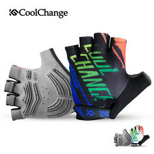 CoolChange Cycling Gloves MTB Bike Bicycle Motorcycle Half Finger Gloves S-XXL