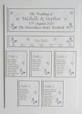 Wedding Place Card * Table Number * Menu * Camera Card * Table Plan * Signs *RH*