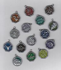 JACKIE CHAN ADVENTURES - ZODIAC TALISMANS, AMULETS. MEDALLIONS. MORE STOCK ADDED