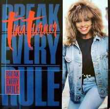 "Tina Turner-Break Every Rule 7"" 45-Capitol Records, CL 452, 1987, Plain Sleeve"