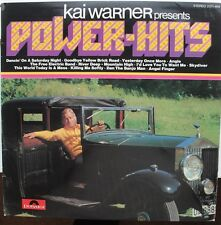 Kai Warner-Presents Power-Hits LP-Polydor, 2371 469, 1974, 12 Track