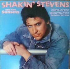 Shakin' Stevens And The Sunsets-Shakin' Stevens And The Sunsets LP-Hallmark Reco