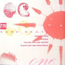 """Various-Sure Beats One 7"""" 45-Record Mirror, SURE 1, 1988, Picture Sleeve 4 Track"""