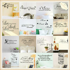 HOT SALE! Family Kids DIY Removable Wall Stickers Vinyl Decal Mural Home Decor