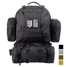 3V Gear Paratus 3 Day Operator's Pack Military Molle & Hydration Compatible