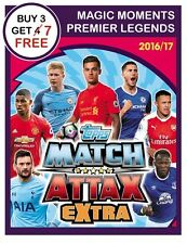 MATCH ATTAX EXTRA 2017 2016/17 SELECT MAGIC MOMENTS, LEGENDS CARDS