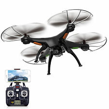 Syma X5SW 2.4Ghz 6-Axis Gyro RC Quadcopter Drone w/ HD Camera RTF UFO Black