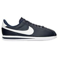 MENS NIKE CORTEZ BASIC LEATHER BLACK/ WHITE CASUAL SHOES MEN'S SELECT YOUR SIZE