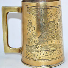 Tankard made from Brass Salvaged from The Battle Field of WWII [PL2402]