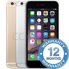 Apple iPhone 6 -16/64/128GB - EXCELLENT Gold/Silver/Grey Grade A/B/C NO TOUCH ID