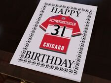 Chicago Fire - PERSONALISED Greetings Card (inc Fridge Magnet)