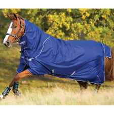 Horseware Amigo Hero6 Turnout Lightweight Plus Detachable Neck - Atlantic Blue