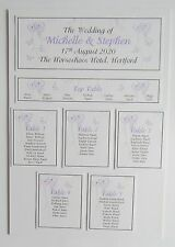 Wedding Place Card * Table Number * Menu * Camera Card * Table Plan * Signs *AS*