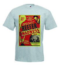 Reefer Madness B Movie poster Retro T shirt