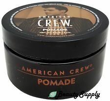 AMERICAN CREW POMADE 3 oz Medium Hold with High Shine  (Pack of 1~3)