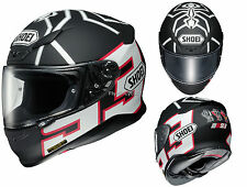 Free 2-Day Ship Shoei RF-1200 Marc Marquez Black Ant Motorcycle Helmet White/Red
