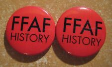 Funeral For A Friend - History OFFICIAL Badge Set (FFAF) *Very Rare*