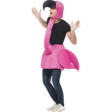 Adult Flamingo Bird Men Ladies Animal Male Stag Party Fancy Dress Costume 26392