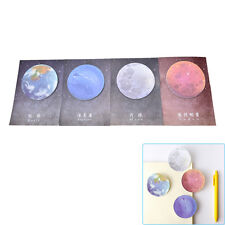 1Pc Planet Memo Pad Notebook Sticky Note Portable School Stationary New TO