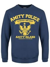 Men's Amity Police Dept Air Force Blue Sweater