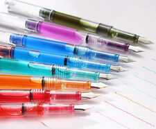 0.5mm F Point Fountain Pen Candy color School Journal Writing Supplies