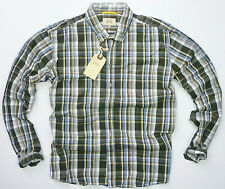 CAMEL ACTIVE MEN'S CLASSIC FULL-CUT XB CHECK SHIRT SIZE 2XL ONLY £69 SAVE+50%