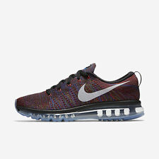 NIKE MEN FLYKNIT AIR MAX RUNNING SHOE BLACK 620469-016 US7-11 02'