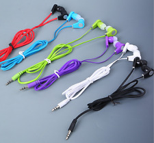 3.5mm Jack In-Ear Headset Earbud Headphone Earphone For Mobile Cell Phone MP3 US