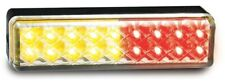 AL18. Stop / Tail / Indicator Light Multivolt 12-24v - Clear Lens & Amber / R...