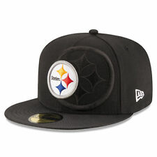 PITTSBURGH STEELERS 2016 NFL NEW ERA 59FIFTY ON FIELD SIDELINE FITTED HAT CAP