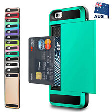 iPhone X 8 7 Plus 6S Plus Slide Armor Shockproof Hard Tough Case Cover for Apple