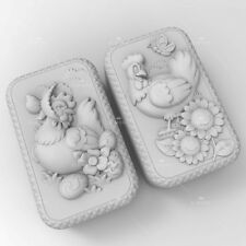 Silicone Soap Mold Craft Chicken Soap Making Mould Candle DIY Handmade Mold