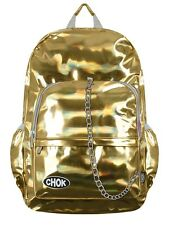 Chok Holographic Gold Backpack