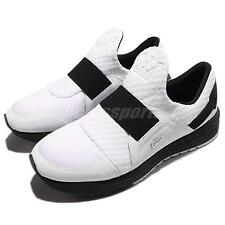 Dada Supreme Nomad White Black Men Running Shoes Snilp-On Sneakers FMS081-PWW