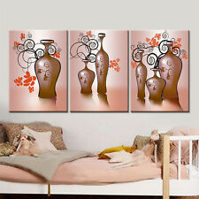 3PC Drop-shipping Canvas Flower Decorative Poster for Living Room  No Frame