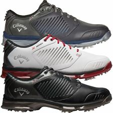 2017 Callaway Xfer Nitro Leather Waterproof Mens Performance Golf Shoes