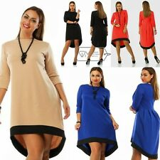2017 New Women Clothes Summer Long Sleeve Dress Plus Size Casual Large Dresses