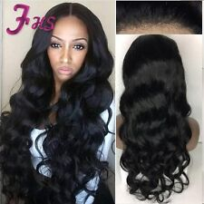 Brazilian Human Hair Full Lace Wig Body Wave Lace Front Wig For Black Women