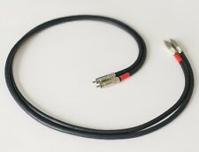 Canare L-4E6S Star Quad Audiophile RCA to RCA Audio Interconnect Cable Pair