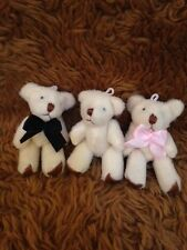 Miniature Soft Cute Cuddly Plush Teddy Bears Ideal Party Bags/Weddings/Baby Show