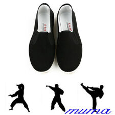 Junior & Adults Rubber Sole Slippers Dancing Tai Chi Shoes Kung Fu Shoes New