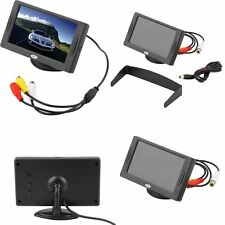 "4.3"" TFT LCD Car Monitor Reverse Rearview Color Camera DVD VCR CCTV BE"