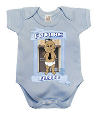 BritTot Baby Grow Future DOORMAN Funny Boys Bouncer Security Vest Baby Shower
